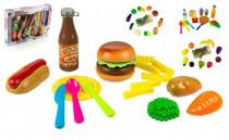 Krájecí ovoce a zelenina plast 20ks - mix variant či barev