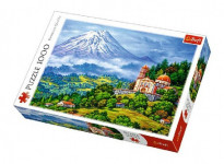 Puzzle Krajina 1000 dílků 68,3x43cm