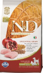 N & D Low Grain Dog Adult Light S / M Chicken & Pom. 2,5 kg