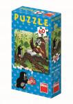 Puzzle 60 dielikov Ako Krtko uzdravil myšku - mix variantov či farieb