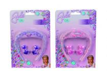 Perlová tiara s přísl. pro holčičky - mix variant či barev
