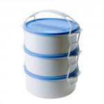 jídlonosič 3x1l plastový