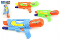Vodné pištole 30cm plast - mix farieb