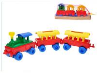 Vláčik + 2 vagóny 65 cm