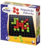 Magnetické piškvorky drevo spoločenská hra