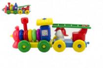 Vláčik / Mašinka s vagóniky plast 45cm