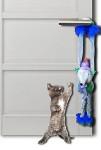 Papillon hračka plyš Myš 45cm s rolničkou, závěs.