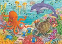 Přátelé z oceánu 35 dílků