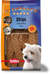Nobby pamlsek - StarSnack Strips Lamb + Rice 20 ks