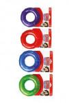 Hračka pes KONG Krúžok pískacie M mix farieb