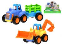 Auto stavebné 16 cm na zotrvačník - mix variantov či farieb