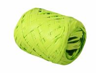 Stuha rafi vajíčko zelená šírka 12,5mm dĺžka 20 m