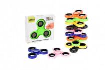 Fidget Spinner kov / plast 7cm v krabičke - mix variantov či farieb