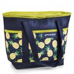 Spokey ACAPULCO Thermo bag small, pattern - pineapple, 39 x 15 x 27 cm - VÝPREDAJ