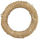 Kroužek slaměný - 20 cm - 10 ks
