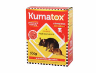 Rodenticid KUMATOX granule na hlodavce 300g