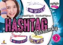 hashtag náramok