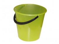 vedro 7l s mierkou plastové - mix farieb