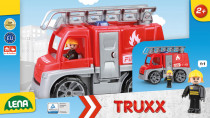 Auta Truxx hasiči v krabici