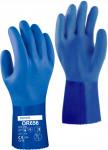 Rukavice OR656 gumové modré veľ. 10 / XL Rosteto - 1 pár