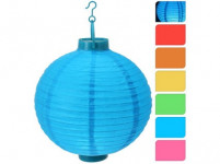 osvetlenie lampióny pr.20cm 1LED papier - mix farieb