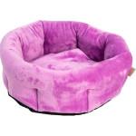 Pelech kruh flanel fleece Pohádka fialový 50 cm