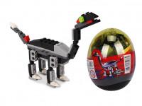 Stavebnica wang - Dinosaur vo vajci (Tanystropheus - čierny)