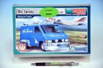 Stavebnica Monti 05 Air Servis-Renault Trafic 1:35