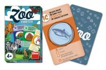 Kvarteto ZOO společenská hra karty 32ks v papírové krabičce