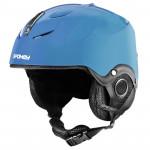 Spokey DIXIE detská lyžiarska prilba modrá, veľ. M