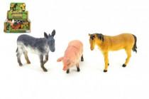Zvířátka farma plast 12cm - mix variant či barev