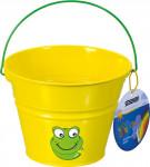 Detský kýblik kovový žltý Stocker