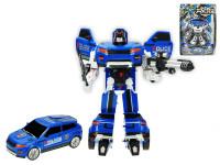 Auto / robot policajné 23 cm - mix farieb