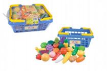 Nákupný košík ovocie / zelenina 25ks plast