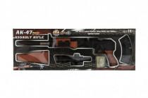 Pištoľ skladacie plast 72cm na mäkké vodnej guličky 7-8m