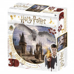 Puzzle 3D 300 dielikov Harry Potter - Rokfort a Hedwig