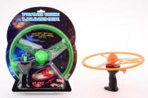 Létající disk se světlem
