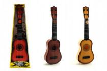 Kytara s trsátkem plast 40cm - mix barev