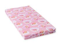 Dětská matrace 120x60x8 cm, molitan, růžová, Cuculo