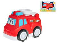 Auto hasičské veselé 25 cm voľný chod