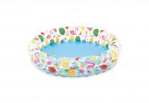 Bazén s ovocím 132x28 cm