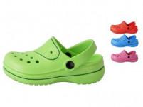 papuče gumové detské veľ. 25 (pár) - mix farieb