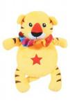 Hračka pes ROUND TIGER plyš žltá 24cm Zolux