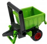 Príves vlečka vozík za aktívnej traktor plast 20cm 24m +