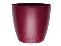 Plastia obal Perla - vínová 14 cm