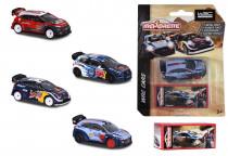 Autíčko kovové WRC - mix variantov či farieb