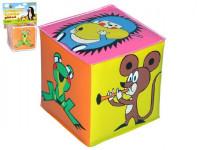 Pískacie kocka Krtko plast 7x7cm