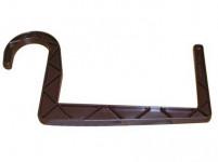 držiak truhlíkov guľatý záves 11x15cm HN