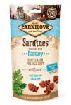 Carnilove Cat Semi Moist Snack Sardina & Parsley 50g