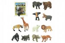 Zvieratko safari ZOO plast 6cm - mix variantov či farieb